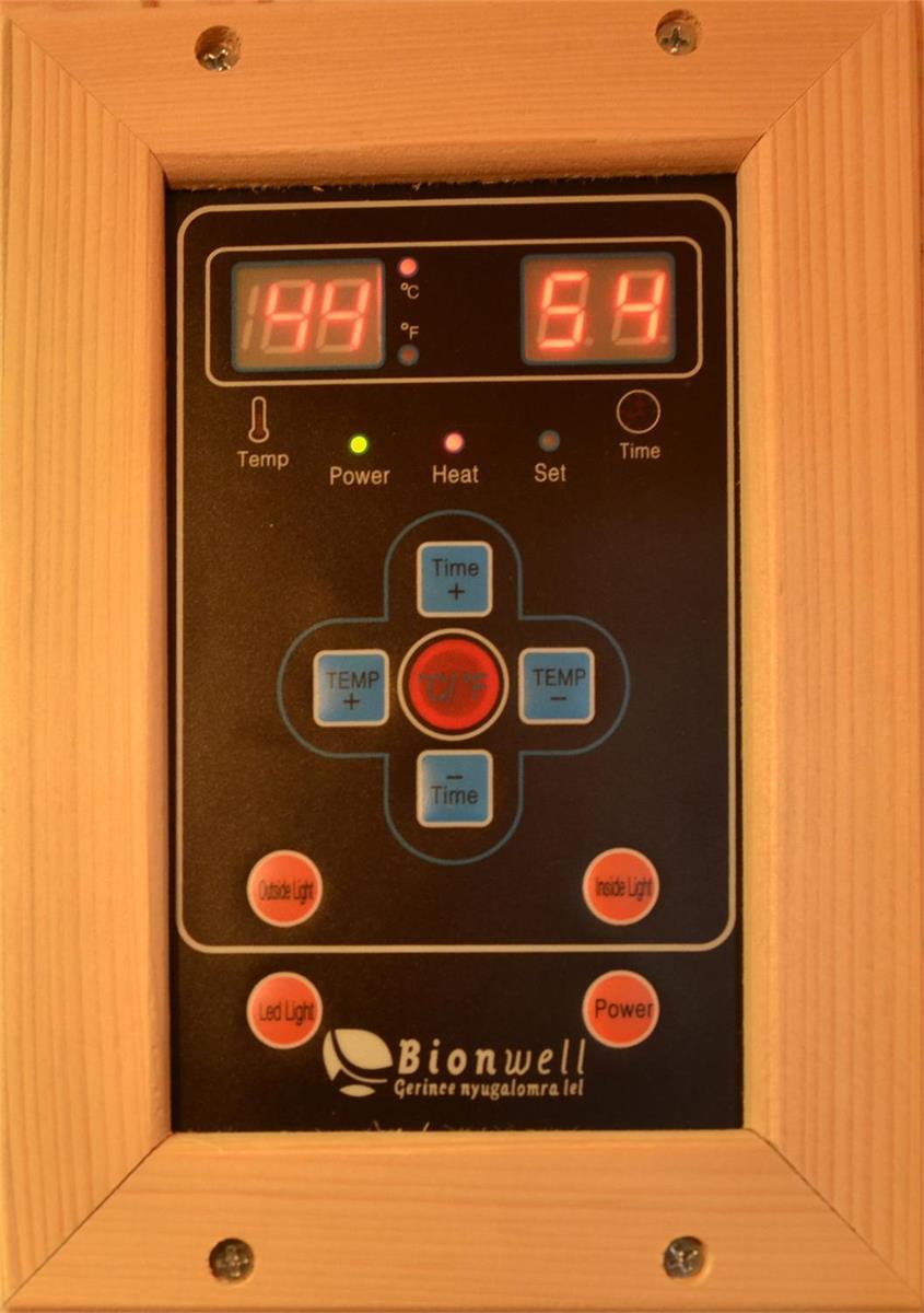 bionwell-3-szemelyes-kültéri-infraszauna-vezerlopanel